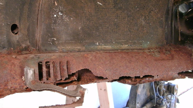 Initial Body Rust Repair Assessment 171 My Beetle Restoration