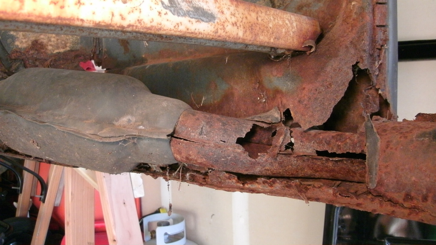 Initial Body Rust Repair Assessment « My Beetle Restoration