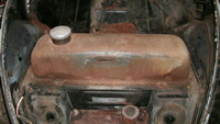 Gas Tank, before removal.