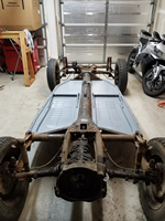 New Floor Pans - Rear View