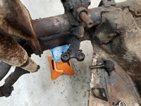Tie Rod End Removed From Steering Arm